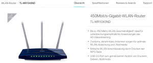 Screenshot (www.tp-link.de)
